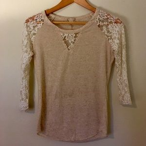 Kirra top (small) :heather/burnout-style